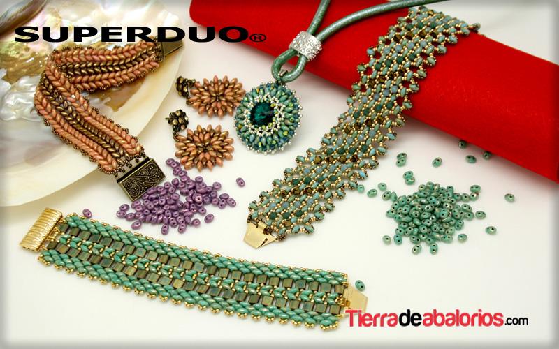 Superdúo y Twin Beads