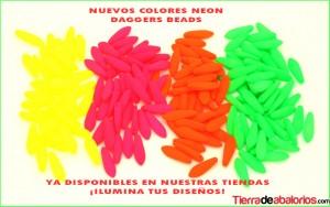 Daggers Beads Neon