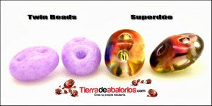 Diferencia Twin Beads y Superduo