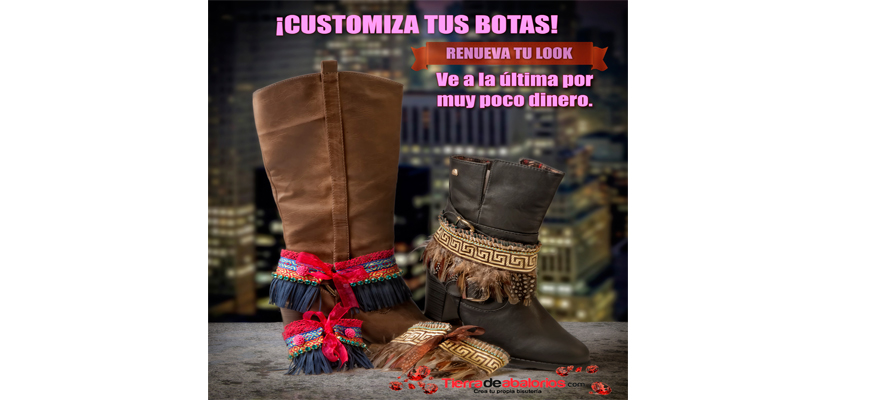 DIY: ¡Customiza Tus Botas!