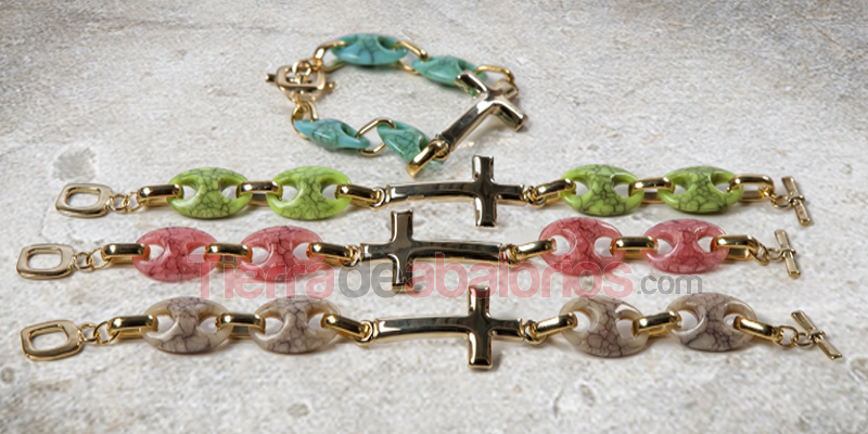 Pulseras Stone and Cruise