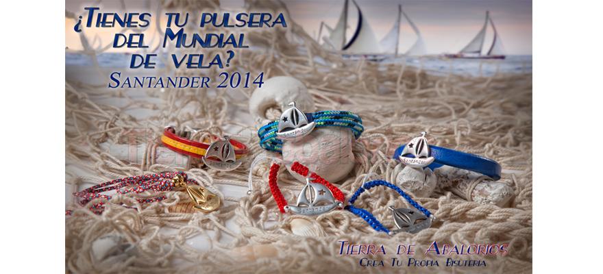 Pulseras de Santander… Las Pulseras del Mundial de Vela 2014