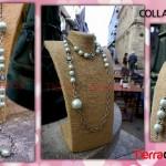 Collar con Cadena y Perlas