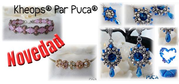 Kheops® Par Puca®, Nuevas Cuentas de Cristal
