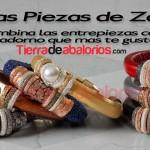Pulseras con Cordones, Regaliz y Zamak