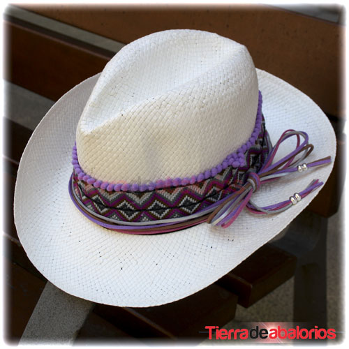 Sombrero Personalizado Morado