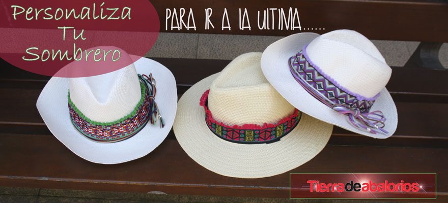 Personaliza tu Sombrero este Verano