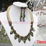 Collar y Pendientes Picasso Gold