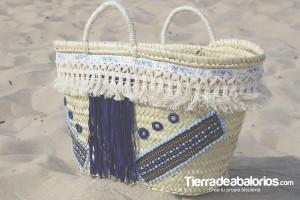 Capazo personlizado - Blog de Tierra de Abalorios