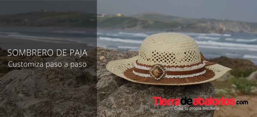 Y para este verano ¡Sombreros de paja customizados!