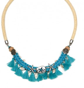 Collar Hippy Chic con Borlas