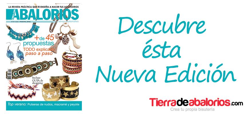 Crea Con Abalorios Nº 57 – Esquemas y Tutoriales DIY –