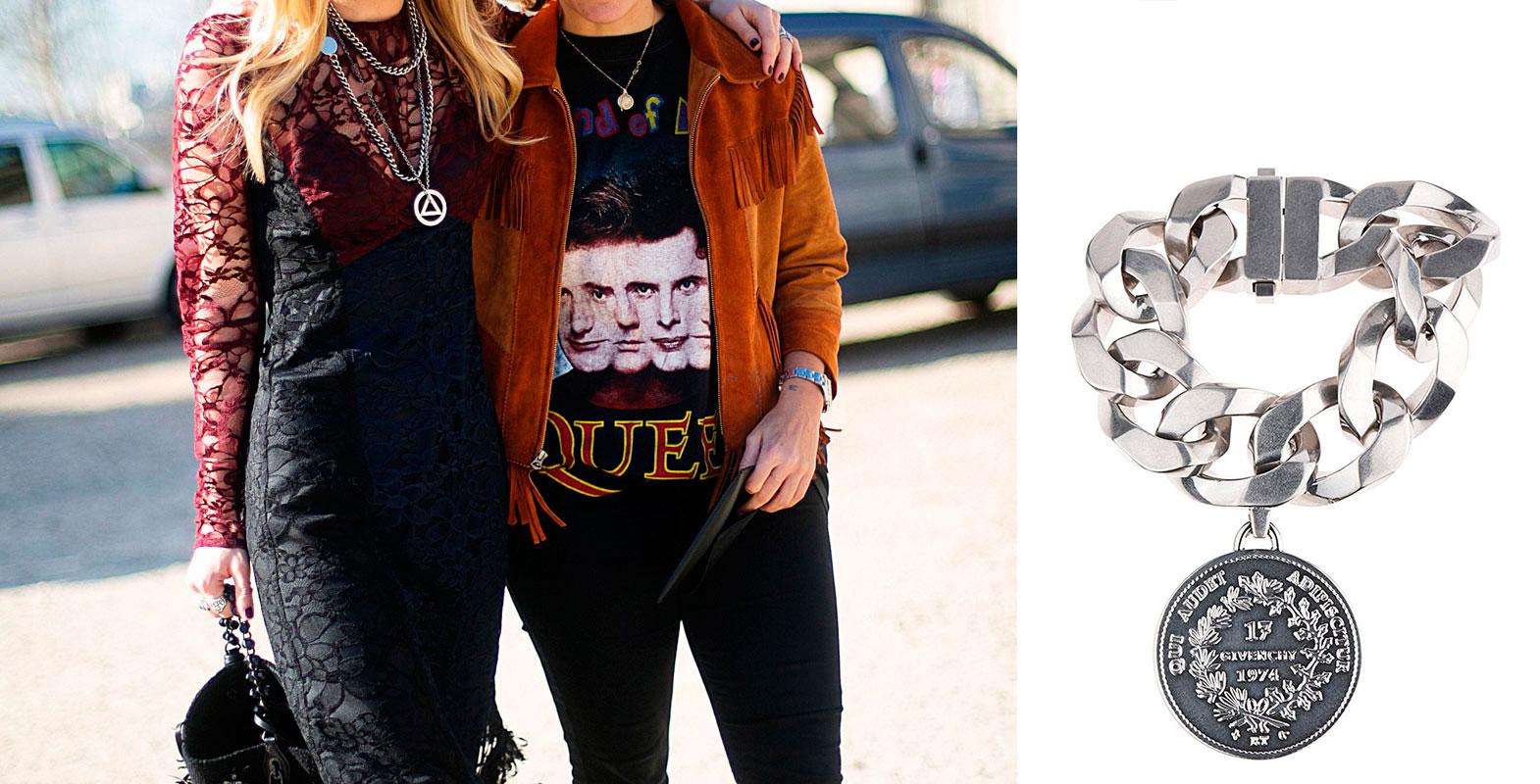 Ya no solo en joyería, la moda de esta temporada otoño invierno vendrá marcada por los estándares rompedores del estilo punk. Pantalones de cuero, chalecos