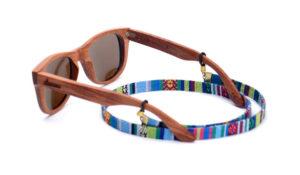 cuelga gafas cordón etnico plano