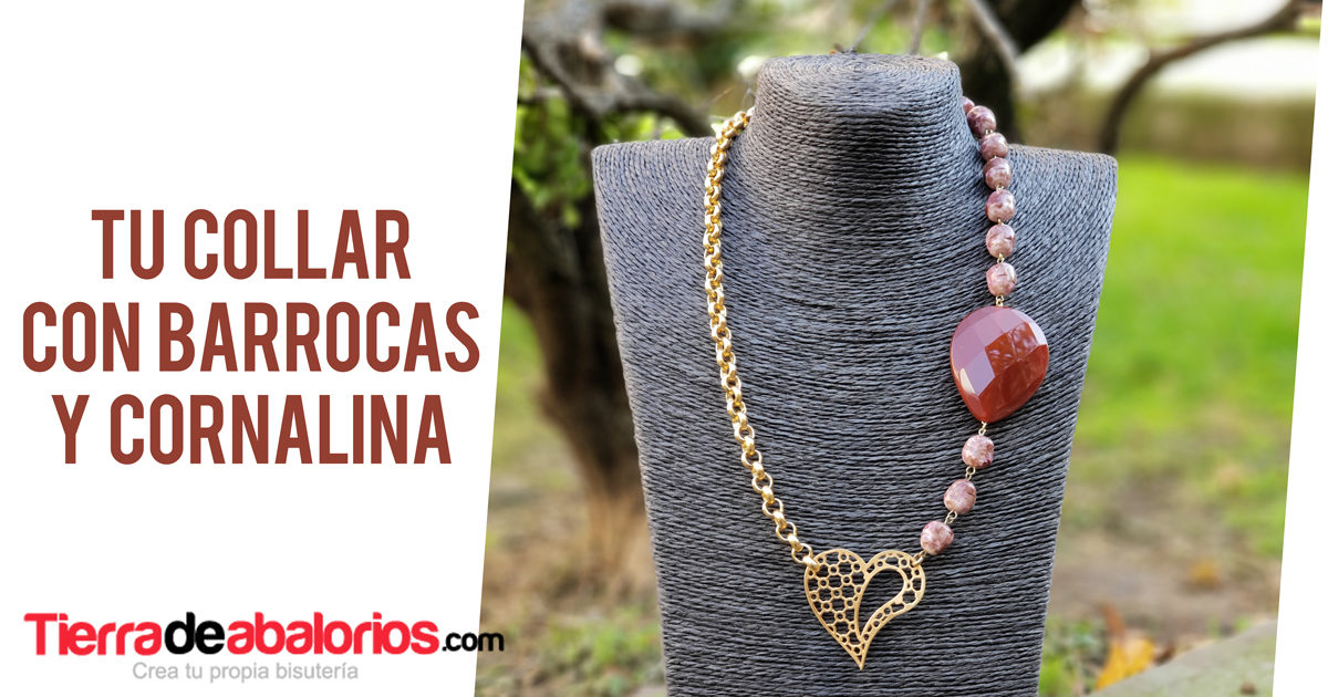 Collar con Perlas Barrocas Matrix