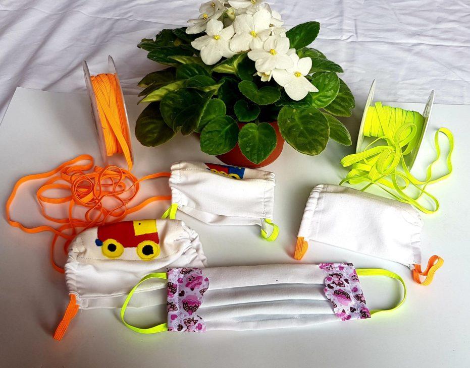 Mascarillas caseras hechas a mano artesanalmente. Haz tu misma tu mascarilla para niños y adultos.