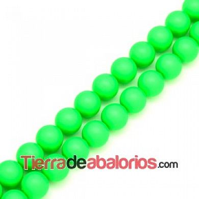 Perla Swarovski 10mm Crystal Neon Green