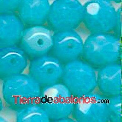 Facetada 8mm Caribe Blue Opal