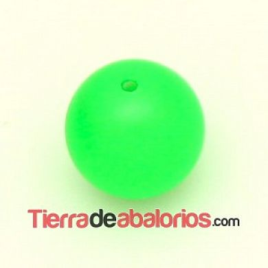 Perla Swarovski 8mm Crystal Neon Green