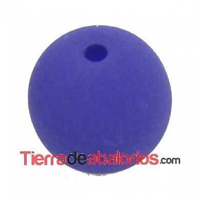Perla de Cristal Checo 4mm, Dark Blue Neón