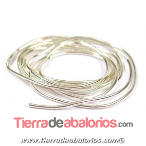 Gusanillo 0,8mm Agujero 0,65mm Plateado
