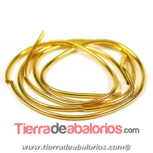 Gusanillo 0,8mm Agujero 0,65mm Dorado