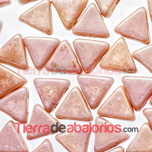 Kheops® Par Puca® 6mm Opaque Rose Ceramic Look