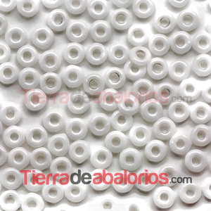 O-Bead 3,8x1mm Chalk White