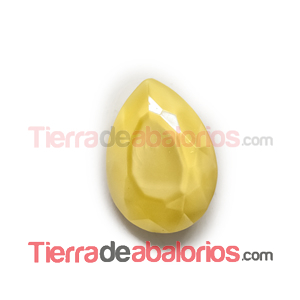 Cabujón Pearshape 25x18mm Lemon Silky