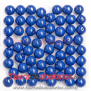 Perla Preciosa® 8mm Crystal Navy Blue