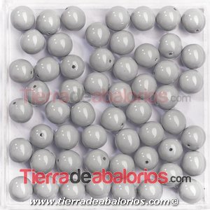 Perla Preciosa® 8mm Crystal Ceramic Grey