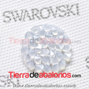 Swarovski Crystal Rocks 15mm White Opal