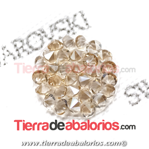Swarovski Crystal Rocks 15mm Golden Shadow