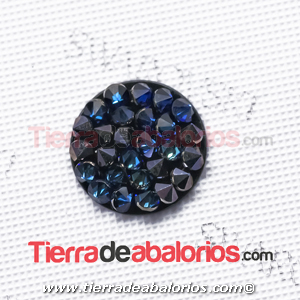 Swarovski Crystal Rocks 15mm Bermuda Blue