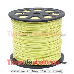 Ante 3mm Amarillo Claro
