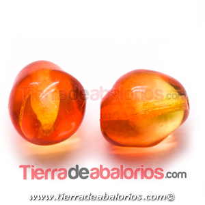 Bola Barroca 13x11mm Agujero 1,2mm, Fireopal