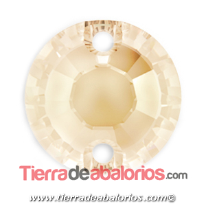 Xirius Swarovski Base Plana 10mm, Golden Shadow