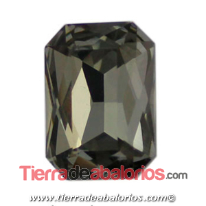 Cabujón Octogonal 18x13mm, Black Diamond