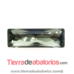 Swarovski Baguette Princesa 15x5mm, Black Diamond