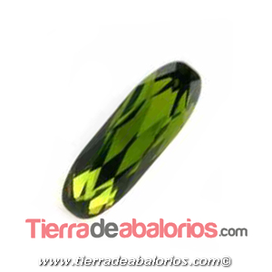 Swarovski Long Classical Oval 15x5mm, Olivine