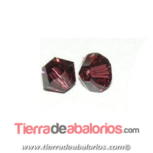 Tupi Swarovski 4mm, Burgundy