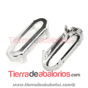 Engaste 20x5mm Plata de Ley