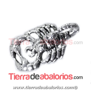 Colgante Escorpion 20x11mm, Plata de Ley