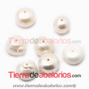 Perla Achatada XL 12x8mm