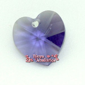 Corazon Swarovski 10,3x10mm Tanzanite