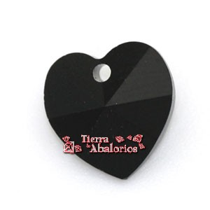 Corazon Swarovski 10,3x10mm Jet