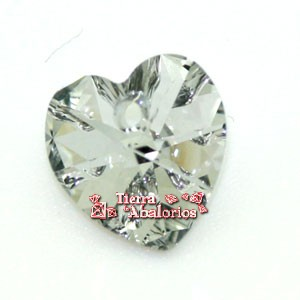 Corazon Swarovski 10,3x10mm Comet Argent Light