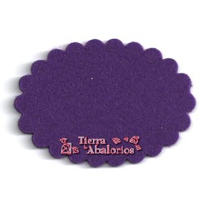 Nube 72x50mm Purpura