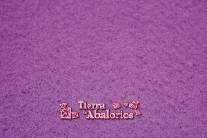 Fieltro Plancha de 20x30cm 2mm Purpura