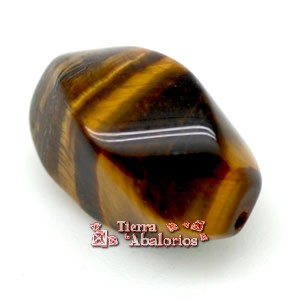 Ojo de Tigre Twist 18x11mm Agujero 0,5mm